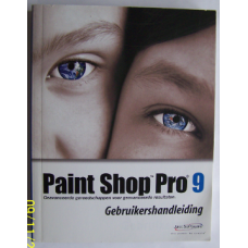 Handboek paint shop pro 9 + cd rom