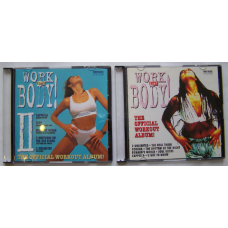 Fitness cd's set