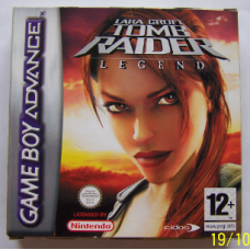 Lara Croft Tomb Raider legend (Game boy advance)